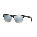 Ray-Ban RB4175 877/30 DEMI SHINY BLACK Light Green Mirror Silver