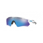 Oakley OO9208-73 RADAR EV PATH POLISHED WHITE Prizm Sapphire