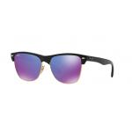 Ray-Ban RB4175 877/1M DEMI SHINY BLACK Grey Mirror Purple