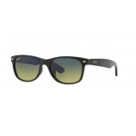 Ray Ban New Wayfarer RB2132F 901/76 Blue Green Gradent Polarized