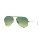 Ray-Ban RB3025JM 001/3M Green Gradient Green