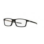 Oakley OX8096-01 SATIN BLACK Clear