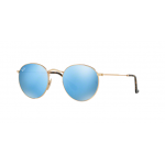 Ray Ban ROUND METAL RB3447N 001/9O Gold Blue Mirror