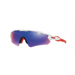 Oakley OO9275-09 RADAR EV POLISHED WHITE Positive Red Iridium