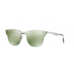 Ray-Ban RB3576N 042/30 BRUSCHED SILVER Dark Green Mirror Silver 41 mm