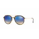 Ray Ban RB4253 710/8B SHINY HAVANA Blue Flash Gradient