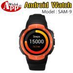 Smart Watch รุ่น SAM9 สีส้ม