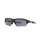 Oakley OO9372-01 POLISHED BLACK Grey