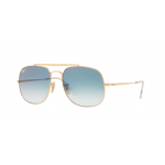 Ray Ban RB3561 001/3F GOLD Blue Gradient