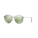 Ray Ban RB3574N 003/30 SILVER Dark Green Mirror Silver
