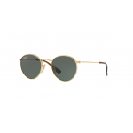 Ray Ban RJ9547S 223/71 Round GOLD Dark Green
