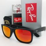 Ray Ban justin rb4165 622/6Q orange mirror