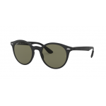 Ray Ban RB4296 601S/9A LITEFORCE MATTE BLACK Polarized Green