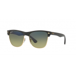 Ray-Ban RB4175 877/76 DEMIGLOSS BLACK Green Gradient Blue - Polar