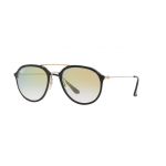 Ray Ban RB4253 6052Y0 BLACK Clear Gradient Gold