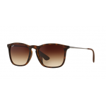 Ray Ban RB4187F 856/13 HAVANA RUBBER Brown Gradient