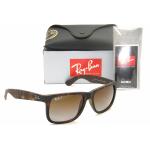 Ray-Ban RB4165 865/T5 Justin Havana Brown Gradient Polarized