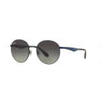 Ray Ban RB3537 185/11 Shiny Blue Grey Gradient
