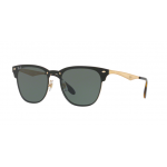 Ray-Ban RB3576N 043/71 BRUSCHED GOLD Dark Green