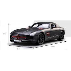 Pre Order โมเดลรถ Benz SLS AMG ดำด้าน 1:18 รุ่นหายากสุดๆ มีโปรโมชั่น สำเนา