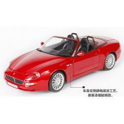 Pre Order โมเดลรถ Maserati Spyder แดง 1:18 รุ่นหายากสุดๆ มีโปรโมชั่น