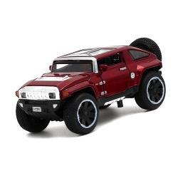 พร้อมส่ง รถโมเดล รถเหล็ก มีไฟมีเสียง Hummer HX 1:32 มี โปรโมชั่น