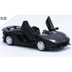 พร้อมส่ง รถโมเดล รถเหล็ก มีไฟมีเสียง Lamborghini Aventador J 1:32 มี โปรโมชั่น