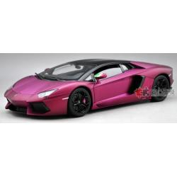 Pre Order โมเดลรถ Lamborghini Aventador ม่วง 1:18 รุ่นหายากสุดๆ มีโปรโมชั่น
