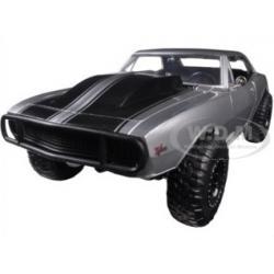 """พรีออเดอร์ รถเหล็ก รถโมเดล US Roman's Chevrolet Camaro Z/28 Silver """"Fast & Furious 7"""" สเกล 1:24"""