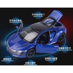 พร้อมส่ง รถโมเดล รถเหล็ก มีไฟมีเสียง Honda Acura NSX 1:32 มี โปรโมชั่น