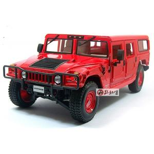 Pre Order โมเดลรถ Hummer H1 แดง 1:18 รุ่นหายากสุดๆ มีโปรโมชั่น