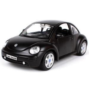 ขาย พรีออเดอร์ โมเดลรถเหล็ก VW bettle ดำด้าน 1:24 สเกล มี โปรโมชั่น