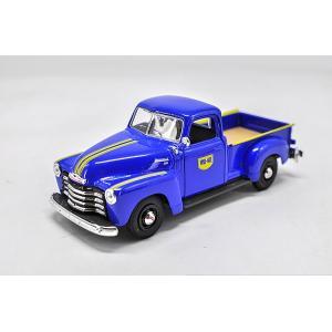 ขาย pre order โมเดลรถยนต์ Chevrolet Truck น้ำเงิน 1:24 หายาก