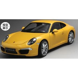 Pre Order โมเดลรถ Porsche Carrera S เหลือง 1:18 รุ่นหายากสุดๆ มีโปรโมชั่น