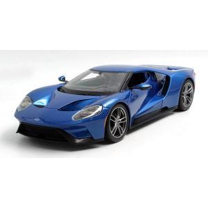 Pre Order โมเดลรถ Ford 2017 GT 1:18 สีน้ำเงิน รุ่นหายากสุดๆ มีโปรโมชั่น