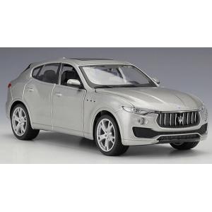 ขาย พรีออเดอร์ โมเดลรถเหล็ก โมเดลรถยนต์ Maserati Lavente เงิน หายาก 1:24