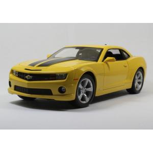 Pre Order โมเดลรถ Chevrolet Camaro เหลือง 2010 1:18 รุ่นหายากสุดๆ มีโปรโมชั่น