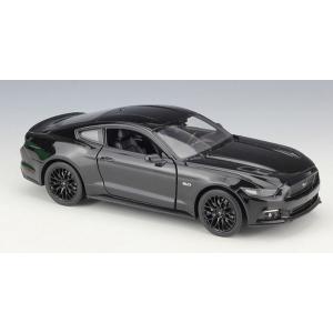 ขาย พรีออเดอร์ โมเดลรถเหล็ก Ford 2015 Mustang GT ดำ 1:24 มีโปรโมชั่น