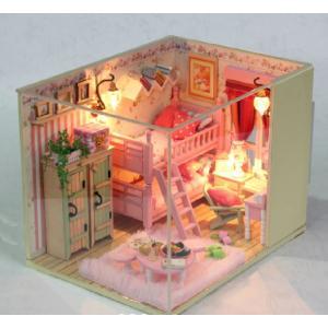 DIY me and my little friends - ห้องนอนสีชมพู พร้อมเตียงสองชั้น
