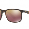 Ray-Ban RB4264 894/6B MATTE HAVANA Chomance Polarized Mirror Gold