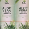 เจลล้างหน้า ALOE AERA Herbal White Cleansing Gel by D-Aora