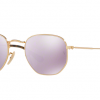 Ray Ban RB3548N 001/8O GOLD Wisteria Flash