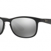 Ray-Ban RB4263 601/5J SHINY BLACK Grey Mirror Chomance Polarized
