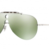RayBan Shooter RB3581N 003/30 SILVER Dark Green Mirror Silver