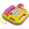 โทรศัพท์ดนตรี สีเหลือง (Novel Telephone) ...จัดส่งฟรี