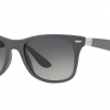 Ray-Ban RB4195F 633211 LITEFORCE MATTE DARK GREY Grey Gradient Dark Grey