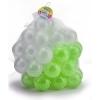 ลูกบอลขนาด 3 นิ้ว จำนวน 50 ลูก(สีขาว-เขียว)...ฟรีค่าจัดส่ง