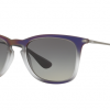 Ray Ban RB4221F 622311 VIOLET SHOT ON BLACK Grey Gradient Dark Grey