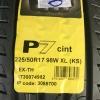 PIRELLI CINTURATO P7 225-50-17 ปี18 ซื้อ2แถม2 มาใหม่ล่าสุด