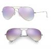 Ray Ban RB3025 019/7X Aviator Silver/Lilac Gradient Flash